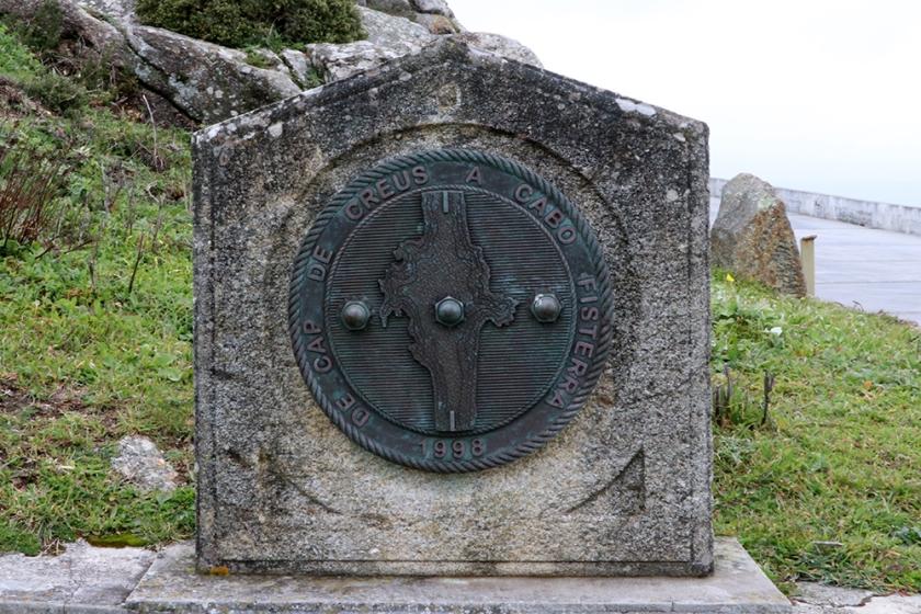 Cap de Creus - Fisterra monument, Fisterra lighthouse, Galicia
