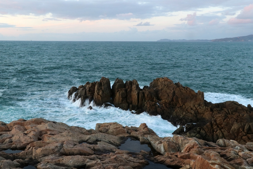 Sea off Galicia.