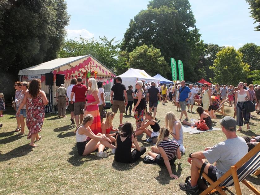 Art in the Park Festival 2018 Leamington Spa
