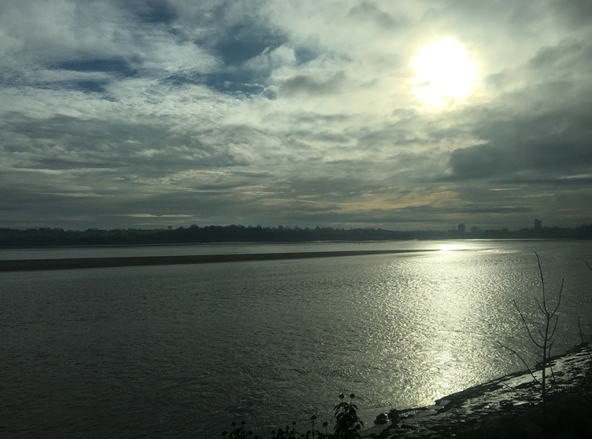 River Severn from train