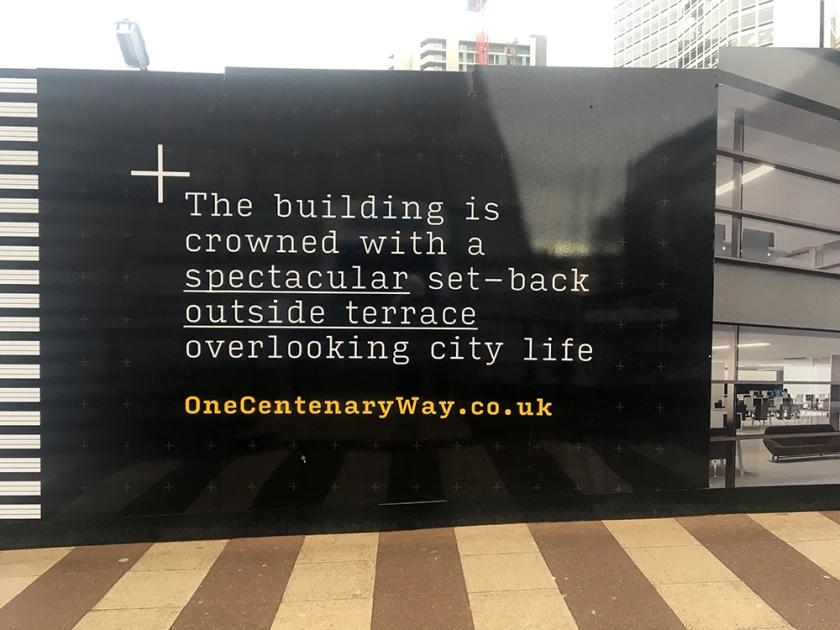 paradise, Birmingham, construction works notice