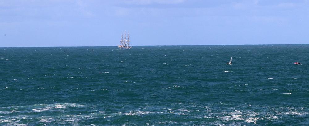 Sea off A Coruña