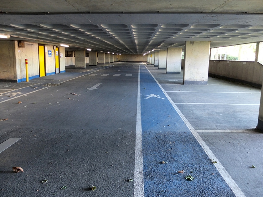 empty multi-storey carpark